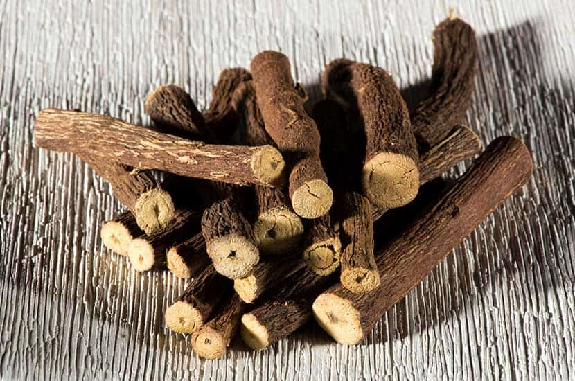 L'estratto di radice di liquirizia è usato come afrodisiaco in molti paesi