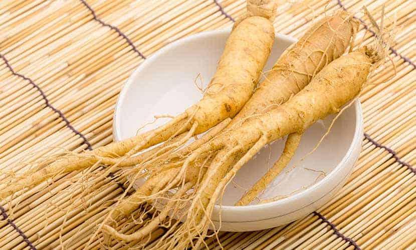 Il ginseng è un afrodisiaco popolare nella medicina tradizionale cinese