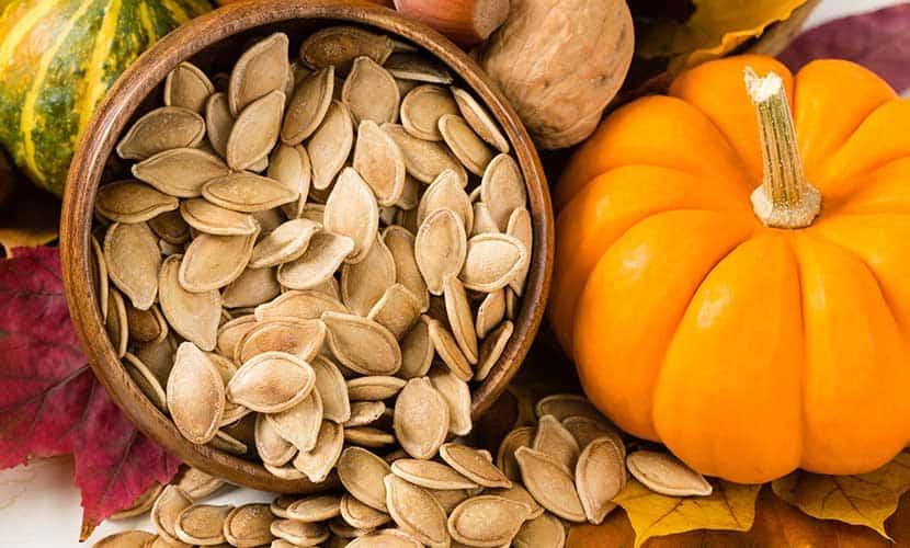 I semi di zucca sono ricchi di magnesio