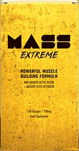 Mass Extreme è un integratore focalizzato sul miglioramento del guadagno muscolare