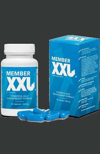 Member XXL è un integratore alimentare che può aiutare a sentirsi più sicuri al momento del sesso
