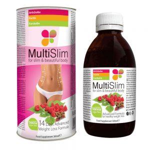 Multislim è uno sciroppo che può aiutare a mantenere un peso sano