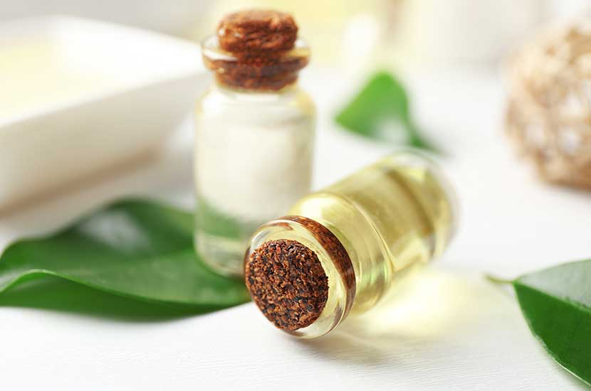 l'olio dell'albero del tè è in grado di migliorare i sintomi della tigna