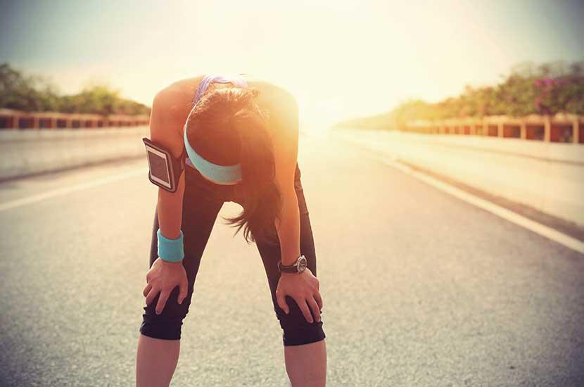 Fare troppo sport può anche influire sulle ginocchia