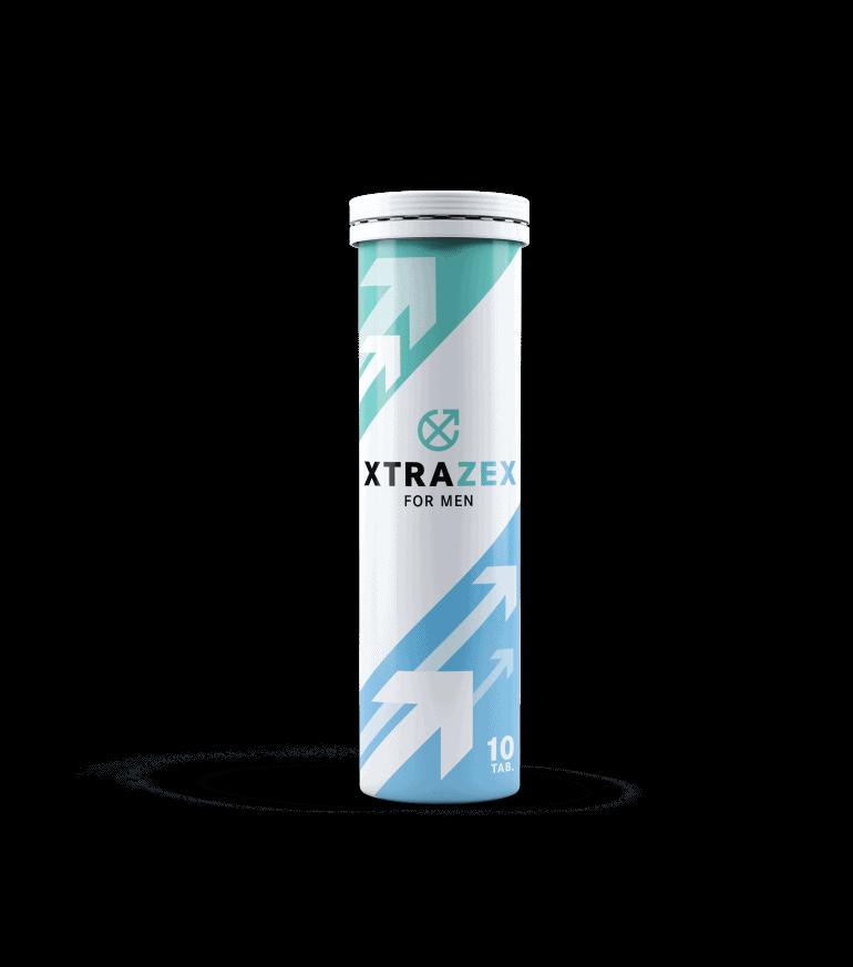 Xtrazex è un prodotto sotto forma di compresse effervescenti per la potenza maschile